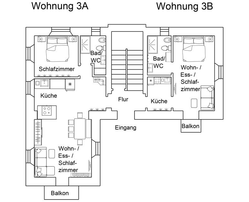 Wohnung 3a